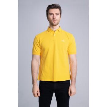 Поло желтое